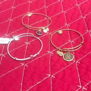 Jewelry - Set of 3 Alex and Ani bracelets